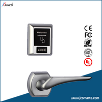 Hotel Key Card Access Systems Zinc Alloy Split Hotel Locks For Sale
