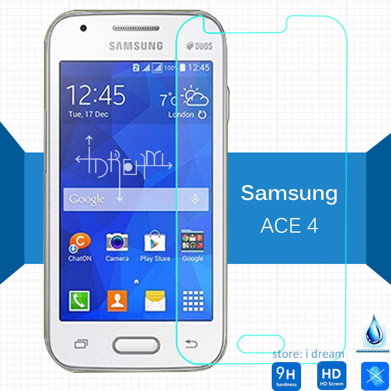For Samsung Galaxy ace4 Tempered glass Screen Protector 2.5 9h Safety Protective Film on Ace4 lite G310 Style S Duos 3 G313H NXT