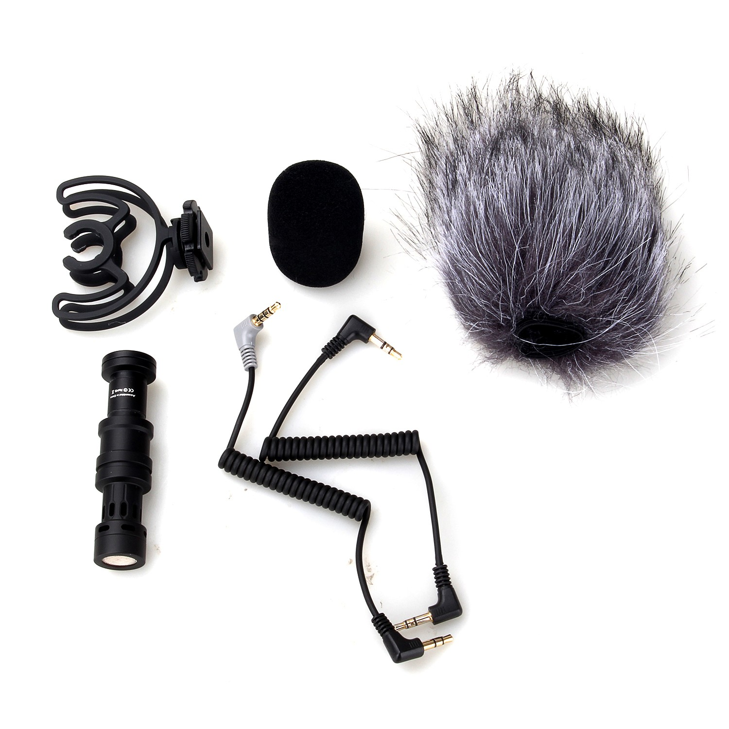 COMICA CVM VM10 Cardioid Directional Condenser Video Microphone for DSLR Smartphone iPhone Vlogger Mic with Windscreen Wind Muff in Microphones from Consumer Electronics