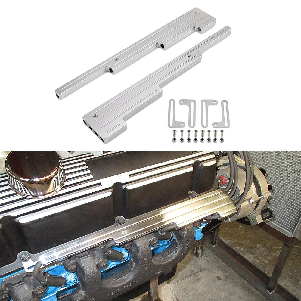 Supports de fil de bougie d'allumage en aluminium de billette SBC BBC 350 pour pour pour FORD CHEVY CHRYSLER DODGE PLYMOUTH