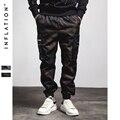 LA INFLACIÓN 2016 Más Nuevo Camuflaje Harem Hombres Pantalones Entrepierna Pantalones Basculador Pantalones de Moda de Otoño y de Invierno Del Ejército