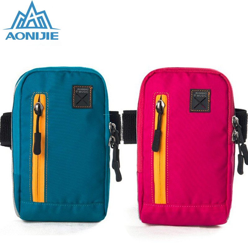 Prix pour AONIJIE Hommes Femmes de Course Bras Pack Léger Sports de Plein Air Racing Randonnée Camping Alpinisme Gym Fitness Mobile Téléphone Sac