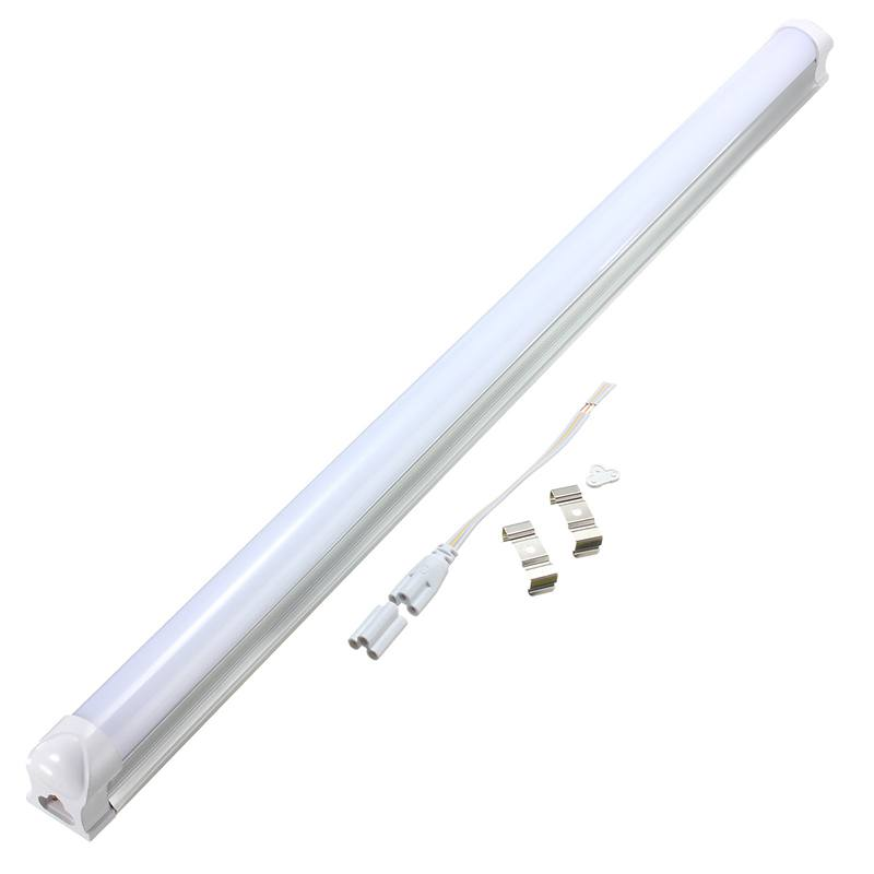 Smuxi LED Bulbs 60cm T8 9W 2835 48smd LED Fluorescent Tube Light Bar Lamp Fixture Bulb 810Lm Pure Warm White AC175-265V