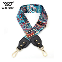 WDPOLO 2017 New Handbags Strap Pteris Design National Gold Buckle Canvas Bag Belt Chic Easy Holding