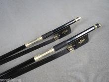 1pcs Professional black Carbon fiber Cello bow 4/4,black Horsehair
