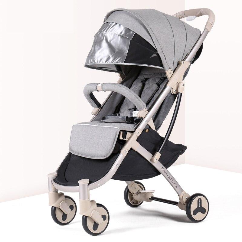 Poussette bébé avion léger Portable landau de voyage enfants poussette Yoya plus 3 Europe landau 2 en 1 chariot