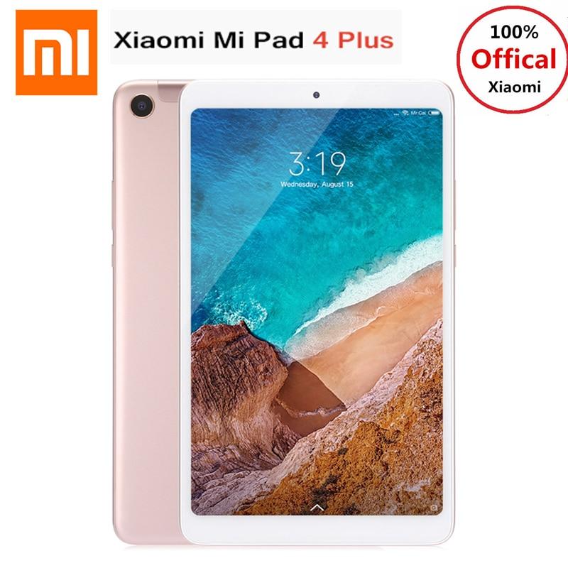 Xiaomi Mi Pad 4 Plus 4g Phablet 10.1 ''MIUI 9.0 Qualcomm Snapdragon 660 4 gb + 64 gb reconnaissance faciale 13MP Cam Double WiFi Tablette PC