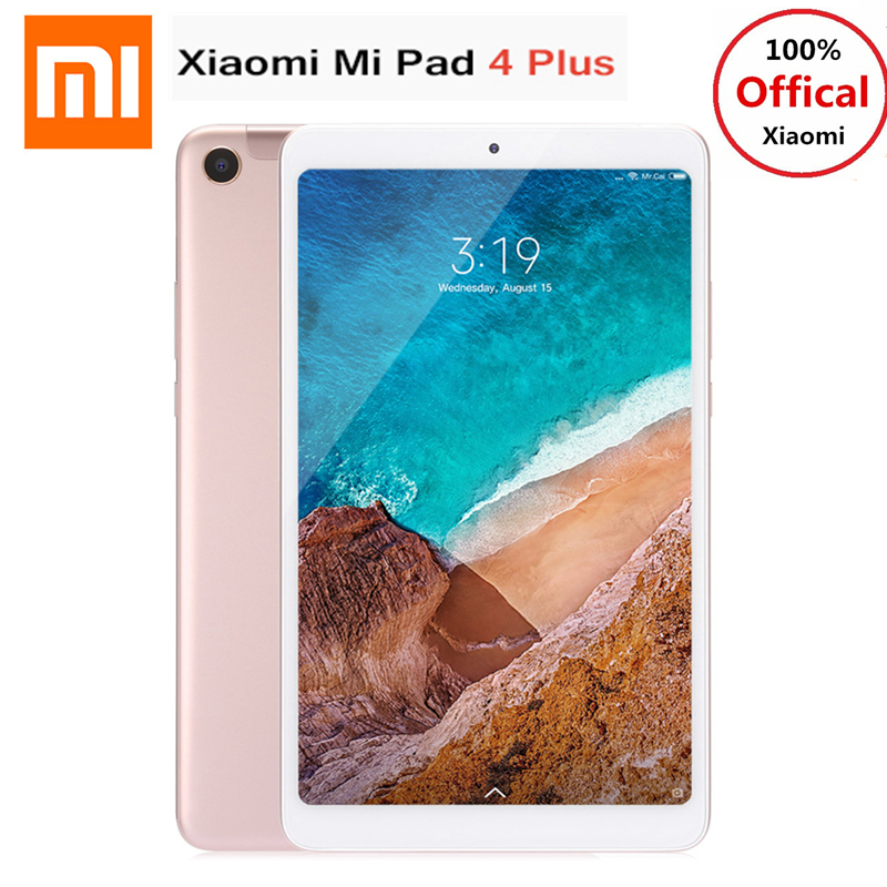 Xiaomi Mi Pad 4 Plus 4g Phablet 10.1 ''MIUI 9.0 Qualcomm Snapdragon 660 4 gb + 64 gb reconnaissance faciale 13MP Cam Double WiFi Tablette PC