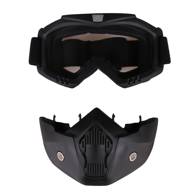 Glasses and Tactical Mask for Toy Gun Game