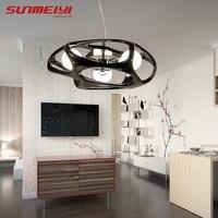 Modern LED Pendant Lights New lustre pendente For Living room Kitchen Glass Ball Pendant Light Dining Lamp suspension led