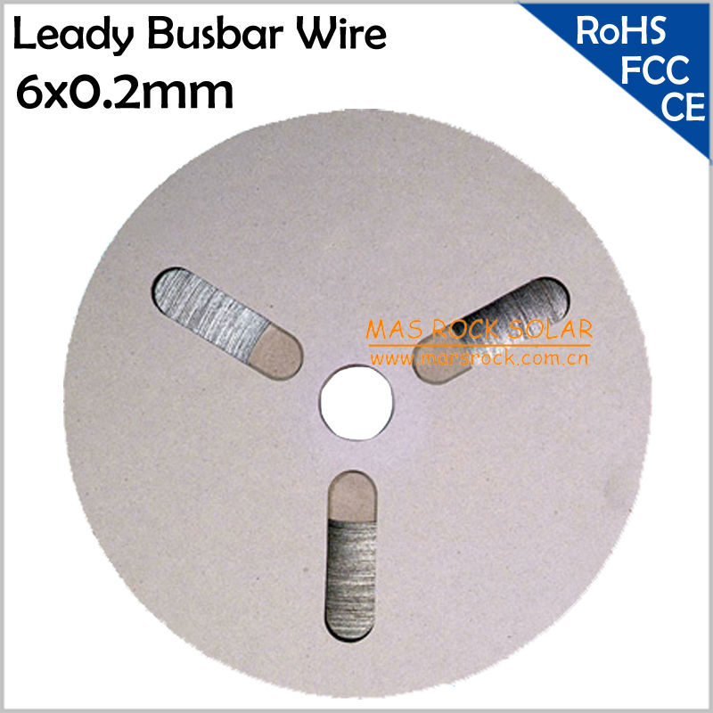 2KG, 200meter, 656 Feets Leady Solar Busbar Wire 6mm X0.2mm, 6mm Solar Busbar for DIY Solar Panel, Solder Connection Wires, TUV sm206 solar power meter for solar research