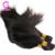 Precio al por mayor 10 paquetes/lote Brasileño de la Virgen Cabello Liso Granel Remy Recta Del Pelo Trenzado de Cabello Humano Mayor Apego