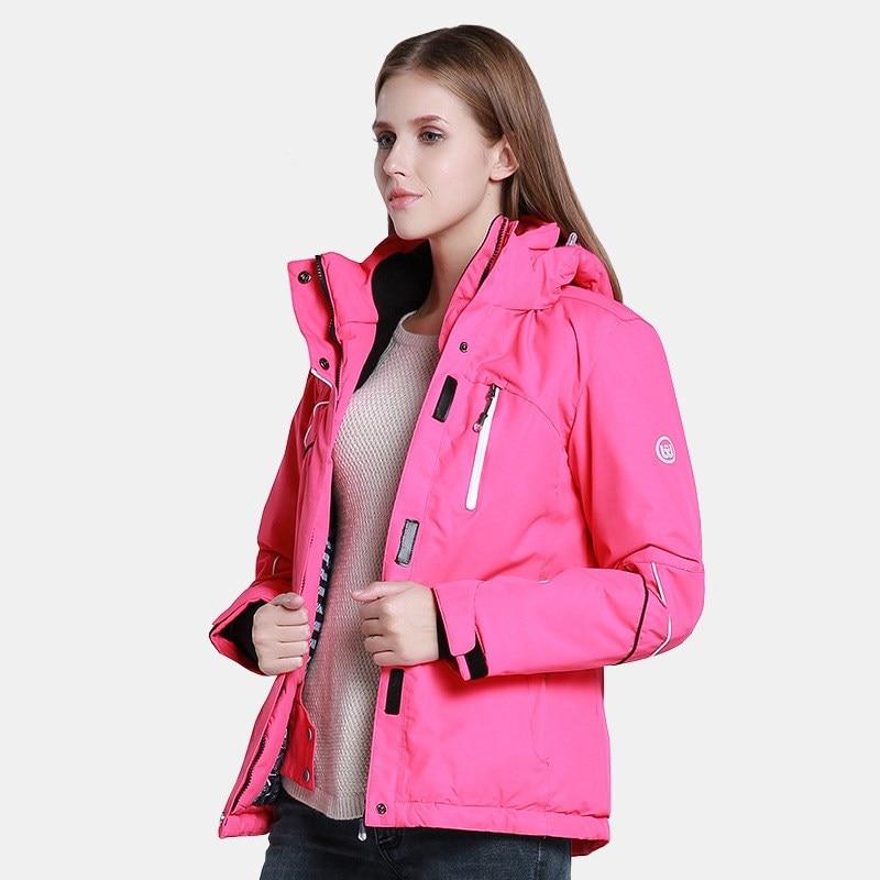 Prix pour Le nouveau ski costumes escalade veste imperméable respirant épais ladiescoat froid H013