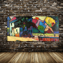 Wholesale High Quality Abstract Trees Oil Painting On Canvas Handmade Beautiful Colors Landscape Paintings