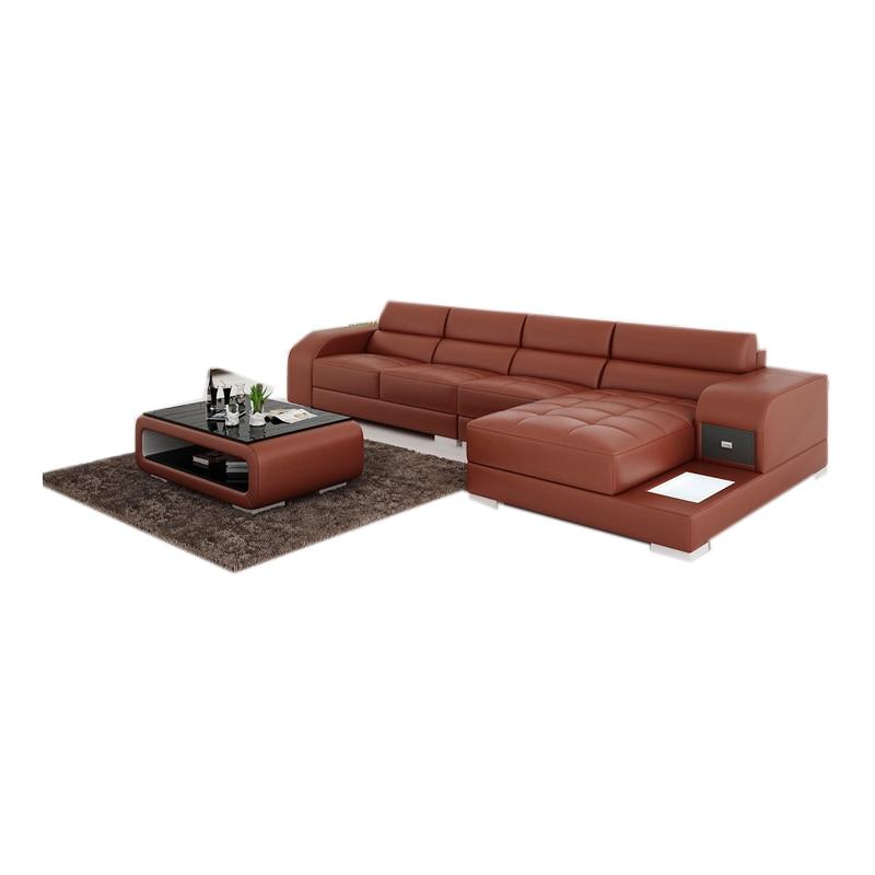Leather Sectional Sofa Lazy Boy: Modern Lazy Boy Leather Recliner Sectional Sofa With
