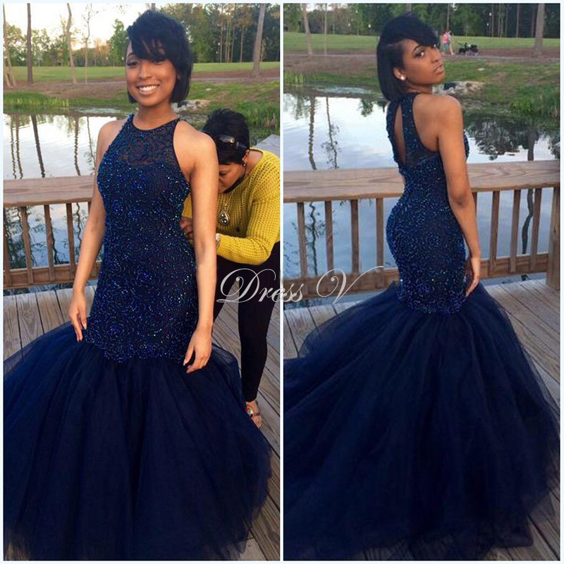 f765364083 black mermaid dress sparkly prom dresses african prom dress-in Prom Dresses  from Weddings   Events on Aliexpress.com