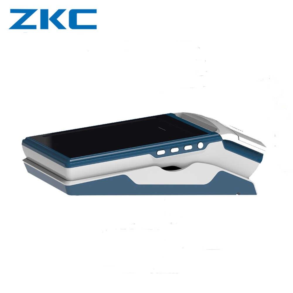 Оригинальный мини мобильный портативный 5,5 дюймов сенсорный экран pos кассовый аппарат интегрированный принтер NFC/RFID считыватель сканер