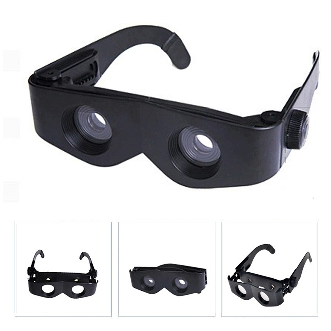 Magnifier Binoculars Telescope Portable Glasses Style For Fishing Hiking Concert