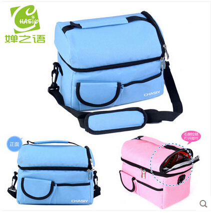 ФОТО Free Shipping New Multifunctional Insulated Thermal Cooler Bags/Lunch Bag/Breast Milk Fresh Receive Bag