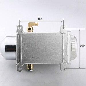 Image 2 - אחד סט סיכה שמן משאבת יד ומונע Cnc נתב אלקטרומגנטית שימון משאבת מסוכה נירוסטה גוף