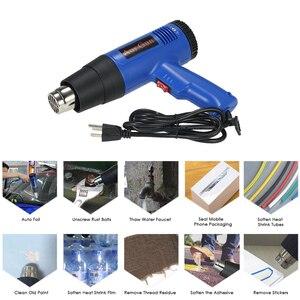 Image 2 - 1800W Air Gun Heat Gun Hot Air Gun For Soldering Hair Dryer Building Hot Air Nozzle For Construction Hair Dryer Industrial Tools