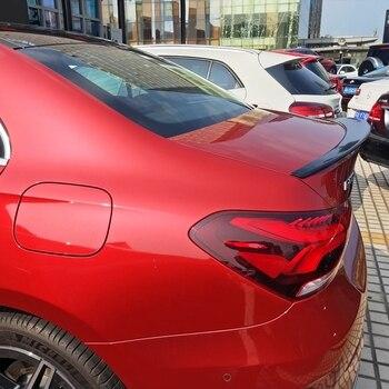 Dla Mercedes-Benz W177 A180 A200 spoiler ABS materiał samochód tylne skrzydło unpaint kolor tylny spojler dla Benz W177 A180 a200 spoiler 2019