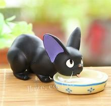 Kikis Delivery Service Jiji Black Cat Kitten Resin Figure