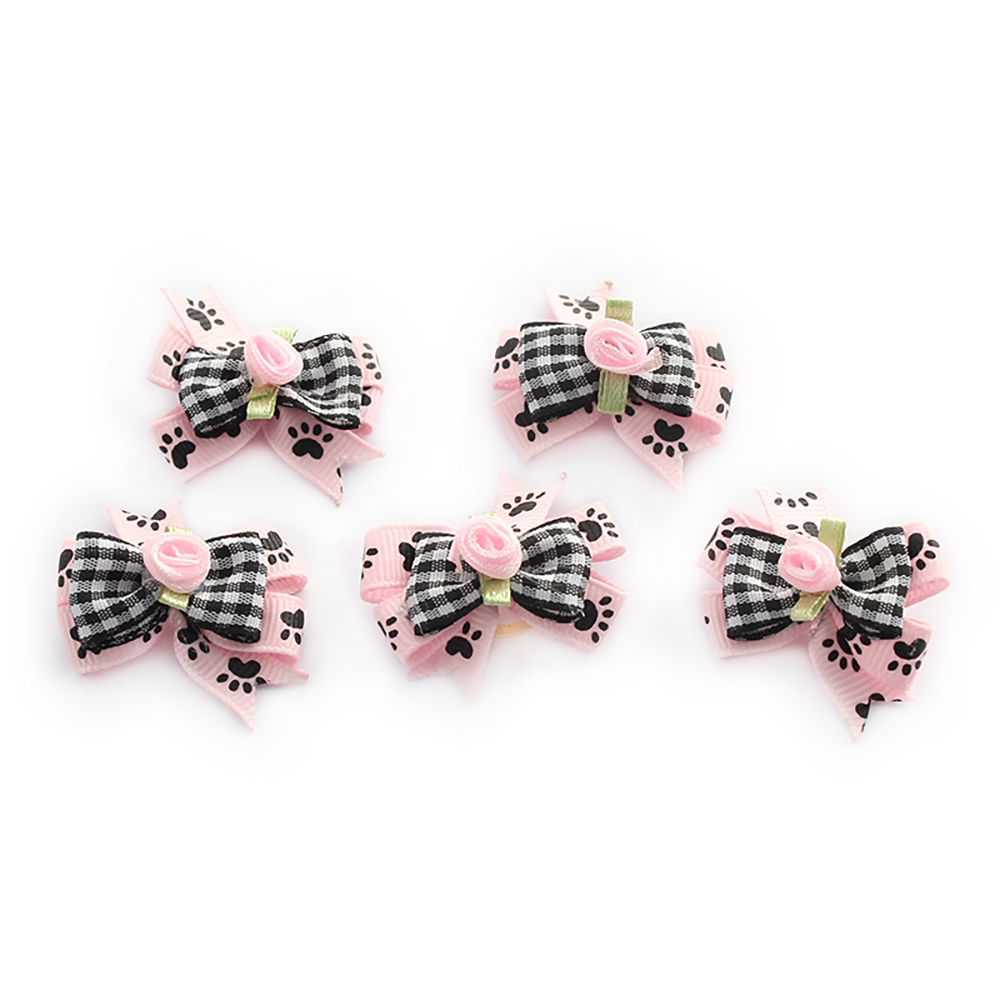 Handmade Accessories For Dogs Fashion Style Ribbon Bow 6023008 Pet Supplies Wholesale