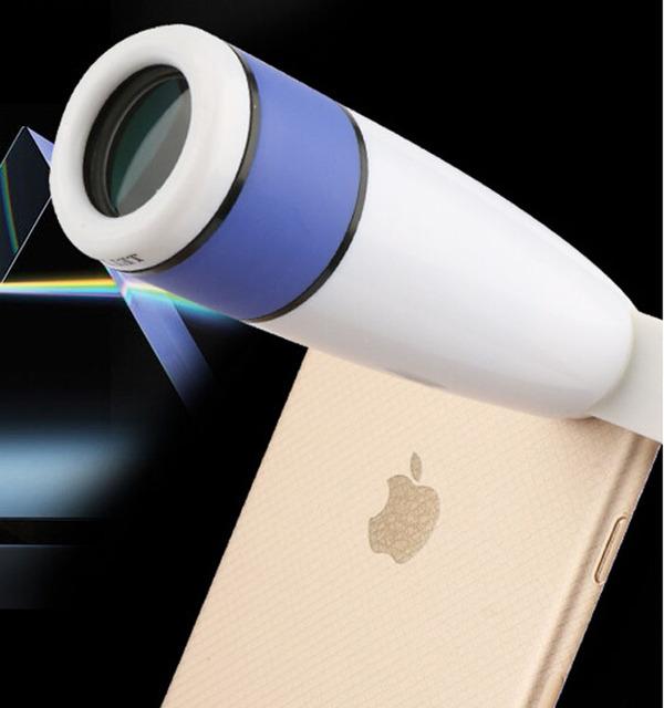Clipe Universal Lente 12X Zoom Telefoto Telescópio Lente Do Telefone Móvel Para doogee atirar 1, doogee x5 max pro f7 t6 pro, wiko u sentir ir