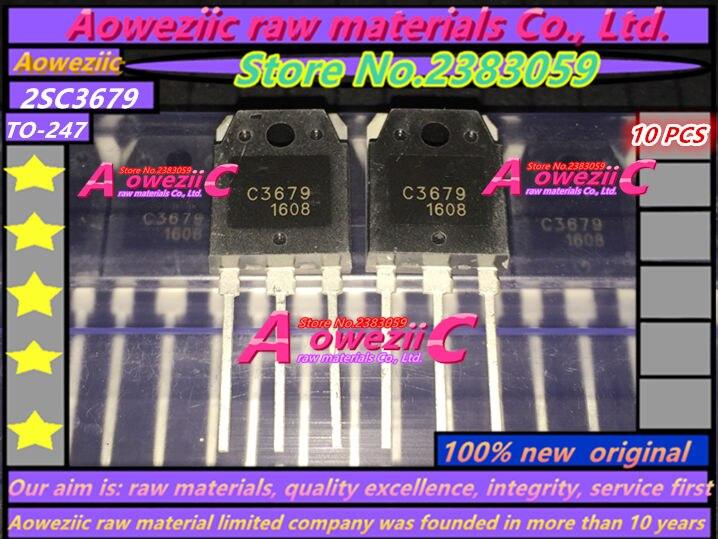 Aoweziic 100 % 새로운 원본 2SC3679 C3679 TO-3P 고전력 트랜지스터 5A / 900V