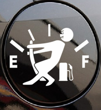 New Style car fuel tank cap sticker for Volkswagen VW Golf 5 6 7 JETTA PASSAT B5 B6 B7 B8 MK4 MK5 MK6 Tiguan Beetle Polo Bora