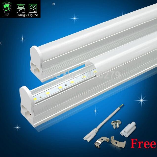 2PCS Lot LED Tube T5 600mm 9W AC85V 265V 2ft Lamp Light 2835SMD Led Fluorescent White Warm Living Room Bedroom