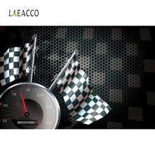 цена на Laeacco Photographic Backgrounds Racing Dash Board Flags Ferrari Competition Match Photo Backdrops Photocall For Photo Studio