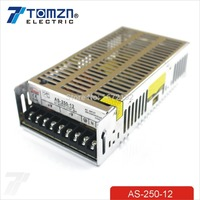 250W 12V 20A Small Volume Single Output Switching power supply for LED Strip light