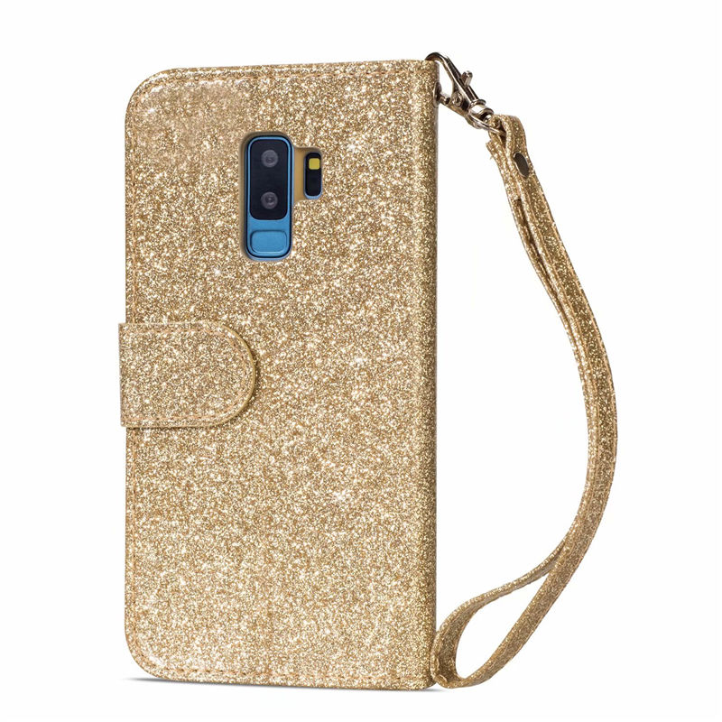 HTB1M0ZJaU rK1Rjy0Fcq6zEvVXaK Wallet PU Leather Case For Samsung Galaxy S11 S10 E S9 S8 Plus S6 S7 Edge Note 10 Pro 8 9 Glitter Silicone Card Slot Flip Cover