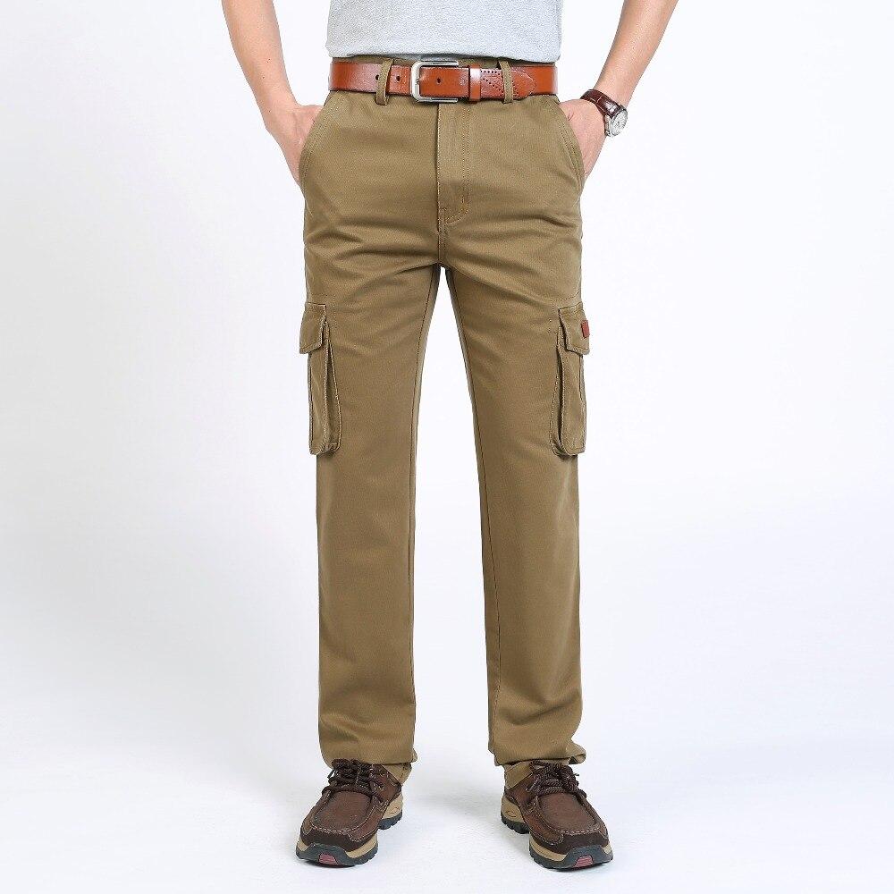 TAIZIQI 2019 Outdoor Fashion Men Cargo Pants Men Pants For Men Trousers Casual Pants Pocket Tactical Pants For Men laiwei8M32