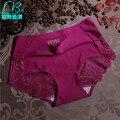 Горячий Продавать Дешевые 2017 Качество Марка Мода Sexy MS женские Трусы Шорты Underpant Один Кусок Бесшовные Iace Шелк Льда нижнее белье