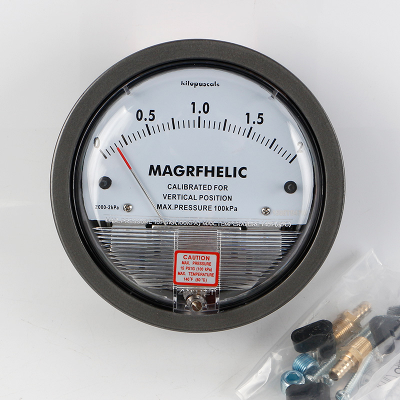 TE2000 0-2kpa Micro Differential Pressure Gauge High цены онлайн