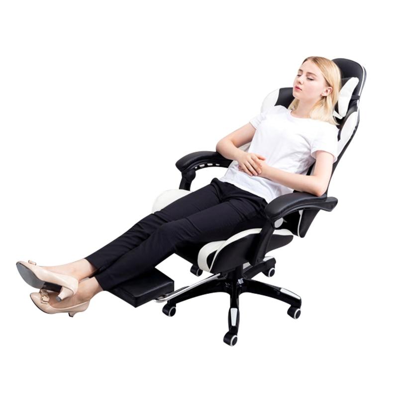 Internet Kafeler Bilgisayar Sandalye Yalan Ev Ofis Koltuğu Ile - Mobilya - Fotoğraf 2