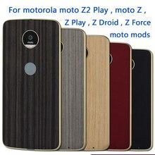 Для Motorola Moto Z2 играть Z Droid Z Force Z Play Z Дело Магнитный Адсорбция крышка dngn оригинальный Moto моды Бесплатная доставка