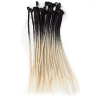 Qp Hair Crochet Braids 10strands Pack Dreadlock HAIR Extensions Kanekalon Fiber Synthetic Braiding Hair