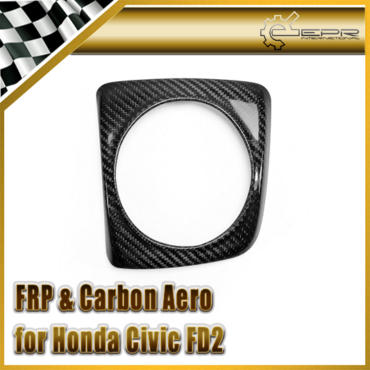 EPR Car Styling For Honda Civic FD2 06-11 Carbon Fiber Gear Surround Fibre Shifter Trim (Manual Only) In Stock