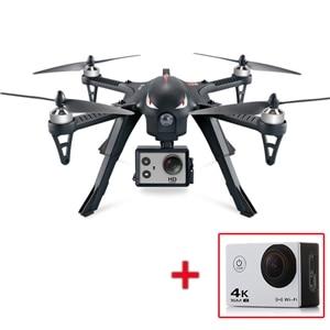 MJX Bugs 3 3D Roll Brushless RC Quadcopter RTF 2,4 GHz mit AT-30 4 Karat Kamera