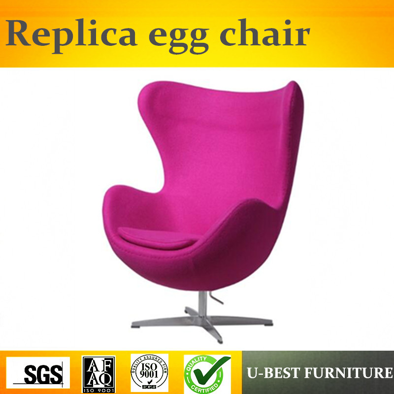 U BEST Classic Design Fabric Swivel Egg Chair For Living Room,Fabric  Replica Arne Jacobsen Egg Chair In Fiberglass In Chaise Lounge From  Furniture On ...