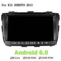 2 Din 8 Inch 32G ROM 2G RAM Car DVD GPS Navi Player For Kia SORENTO