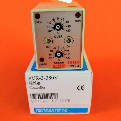 PVR-3-220V PVR-3-380V FOTEK Mekatronik Koruyucu Denetleyici Yeni ve OrijinalPVR-3-220V PVR-3-380V FOTEK Mekatronik Koruyucu Denetleyici Yeni ve Orijinal