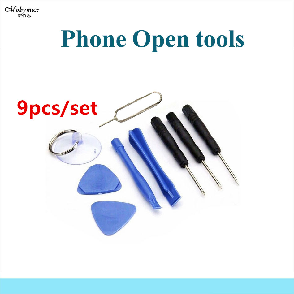 9pcs in 1 Set Hand Repair Phone Disassemble Pry Open Tools Kit Torx Screwdriver for iPhone 6 Plus 4s 5 5c 5s 6s 7 8 Touch Screen