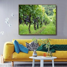 Vineyard Canvas Gardanne by Cezanne Painting Calligraphy Posters Prints Pictures For Home Living Room Wall Art Decoration