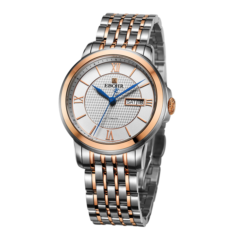 EBOHR brand luxury machinery successful mens Mechanical watch waterproof business casual fashion watch 2019 new Ebohr 10860311EBOHR brand luxury machinery successful mens Mechanical watch waterproof business casual fashion watch 2019 new Ebohr 10860311