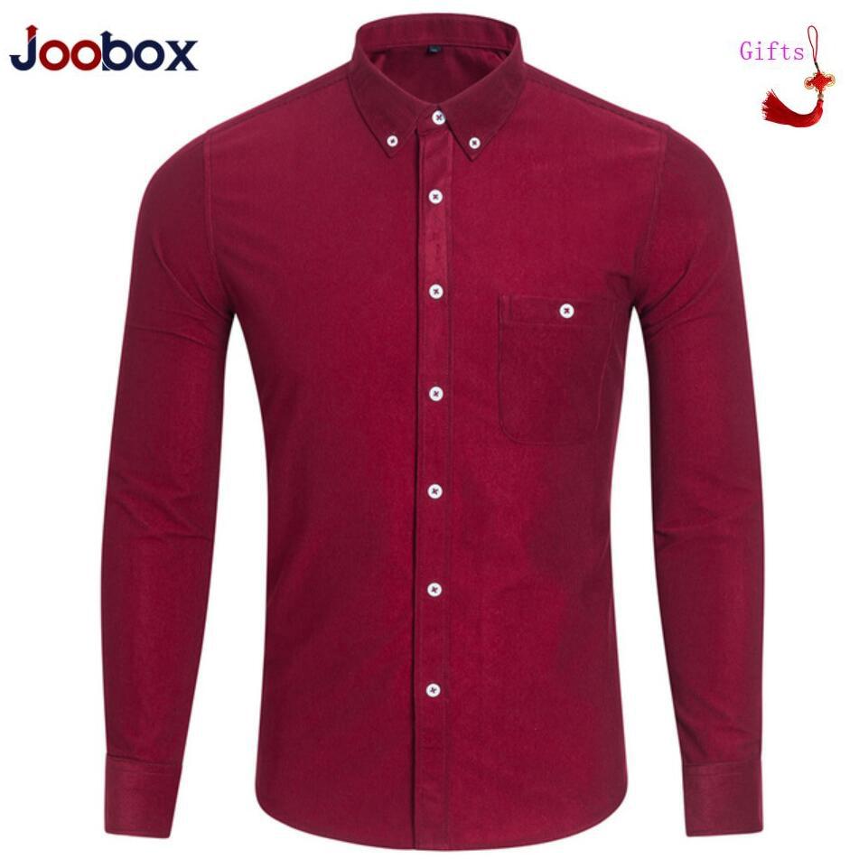 Men Fashion Casual Corduroy Long Sleeved Shirt Slim Fit Male Social Business Dress Shirt Brand Men Clothing Factory Clearance